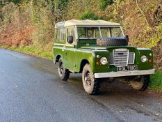 1968 Land Rover Series IIA 4x4 Utility Chassis no. 24136283G
