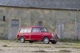 1963 Morris Mini Traveller Chassis no. MAW4/436098