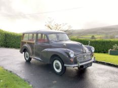 1965 Morris Minor 1000 Traveller Deluxe Estate Chassis no. M/A5D1091491