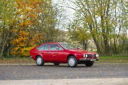 1977 Alfa Romeo Alfetta GTV Coupé Chassis no. 0002200