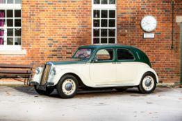 1939 Lancia Aprilia Saloon Chassis no. 389385