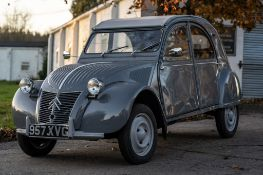 1957 Citroën 2CV Saloon Project Chassis no. 359965