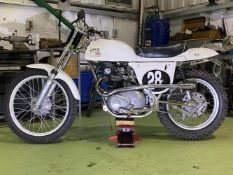 1966 Triumph Metisse 500 Scrambler Frame no. H46426 Engine no. KH16539