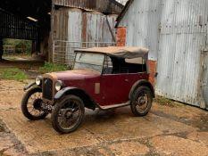1929 Austin Seven 'Chummy' Tourer Chassis no. 83532