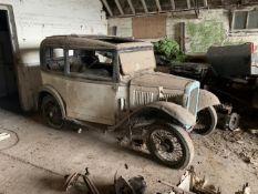 1932 Austin Seven Box Saloon Project