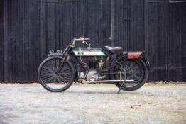 1913 Ariel Sports Frame no. 1847 Engine no. 6884