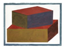 Sol LeWitt (American, 1928-2007) Form derived from a cubic rectangle II, 1990