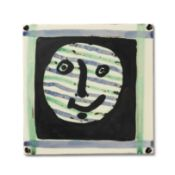 Pablo Picasso (1881-1973) Masque marked and numbered K 121/Edition Picasso/132/300/Madoura (on th...