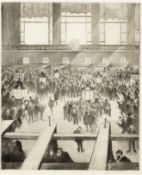 Christopher Richard Wynne Nevinson A.R.A (1889-1946) New York Stock Exchange Drypoint, 1921, on c...