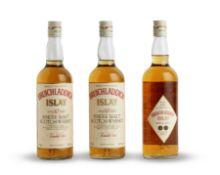 Dufftown-Glenlivet-8 year old Bruichladdich-10 year old (3) Talisker-10 year old (2) Highland P...