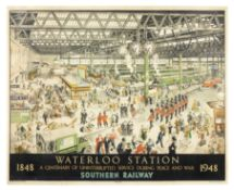 HELEN MADELEINE McKIE (d.1957) WATERLOO STATION - PEACE. Southern Railway