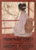 After LEOPOLDO METLICOVITZ (1868-1944) MADAME BUTTERFLY