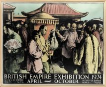 GERALD SPENCER PRYSE BRITISH EMPIRE EXHIBITION 1924