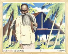 ELIJAH ALBERT COX (1876-1955) THE EMPIRES SUGAR CANE, The Empire Marketing Board