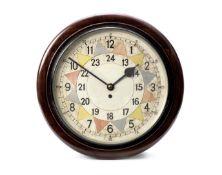 An Elliott wall-clock circa 1941,
