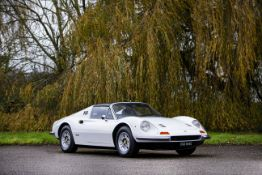 Freshly restored to '100-point'concours standard,1973 Ferrari Dino 246 GTS Chassis no. 06590