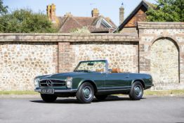 1966 Mercedes-Benz 230 SL Convertible with Hardtop Chassis no. 113042-22-015489