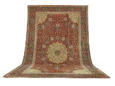 A Tabriz carpet of Ardabil design North West Persia 716cm x 440cm