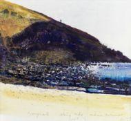 Kurt Jackson (British, born 1961) Nanjizal, Ebbing Tide, Indian Summer (together with a further w...