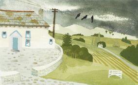 Mary Fedden R.A. (British, 1915-2012) Irish Landscape