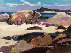 Donald McIntyre (British, 1923-2009) Eilean Chablha No 2