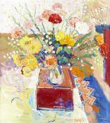 Fred Yates (British, 1922-2008) Flowers in a Vase, Marazion