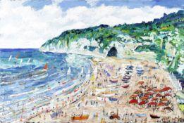 Simeon Stafford (British, born 1956) Beer, Devon (unframed)