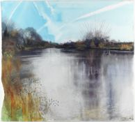 Kurt Jackson (British, born 1961) Thames at Kelmscott