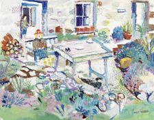 Fred Yates (British, 1922-2008) La Terasse, Sennen
