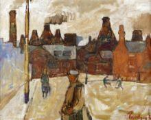 Julian Trevelyan R.A. (British, 1910-1988) Burslem, Stoke-on-Trent
