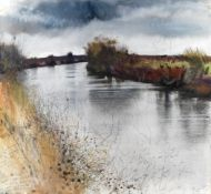 Kurt Jackson (British, born 1961) Newbridge, Near Stand Lake