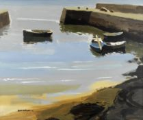 Donald McIntyre (British, 1923-2009) Grey Morning Bunowen