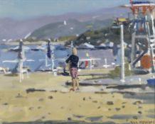 Ken Howard R.A. (British, born 1932) Almyros Beach, Crete