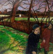 Carel Weight R.A. (British, 1908-1997) A Winter Walk