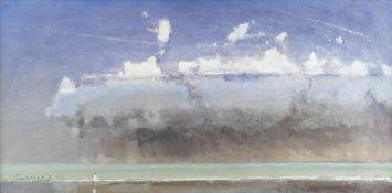 Frederick Cuming R.A., N.E.A.C. (British, born 1930) Squall