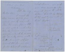 ENGINEERING & MINING - DERBYSHIRE Series of over 120 autograph letters from the engineer and Gene...