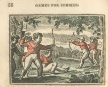JUVENILE GAMES Juvenile Games, for the Four Seasons, 8vo, [c.1820]; and others, including Crabbe,...