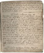 COOKERY MANUSCRIPT Culinary recipe book, written in several hands, with over 100 receipts includi...