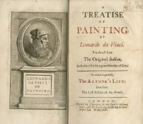 LEONARDO DA VINCI A Treatise of Painting... Translated from the Original Italian... to Which is P...