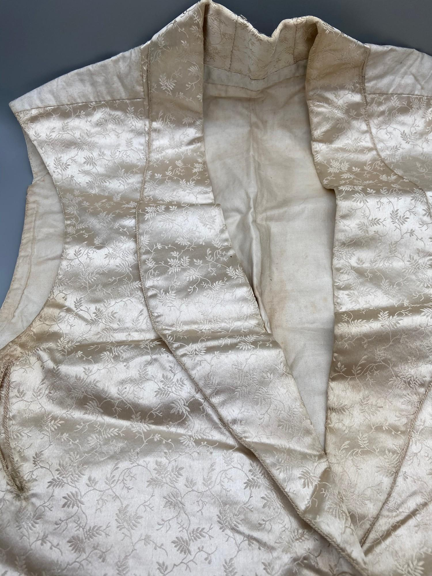 Lot 128J - A Victorian highly detailed waist- coat
