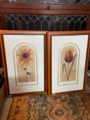 Two limited edition prints by Kelly Jane. Produced by Washington Green. Both signed in pencil by the