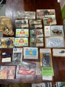 A Quantity of boxed Train Airfix models and Merit kits. Includes Various wagons, Railway accessories