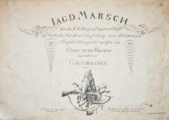 Johann Baptist Gänsbacher (Sterzing/Vipiteno 1778 – Wien/Vienna 1844)