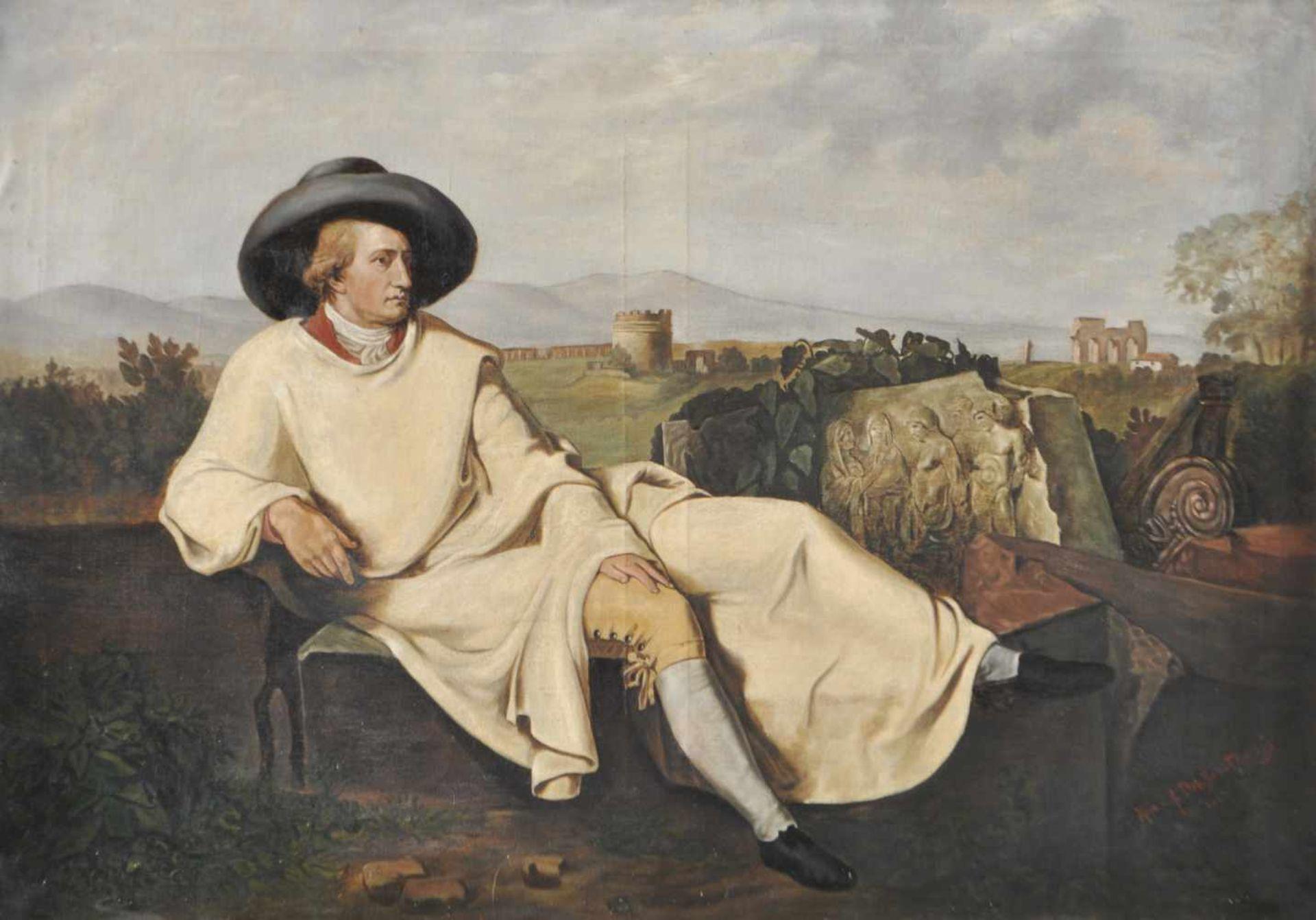 Johann Heinrich Wilhelm Tischbein Kopie/copia