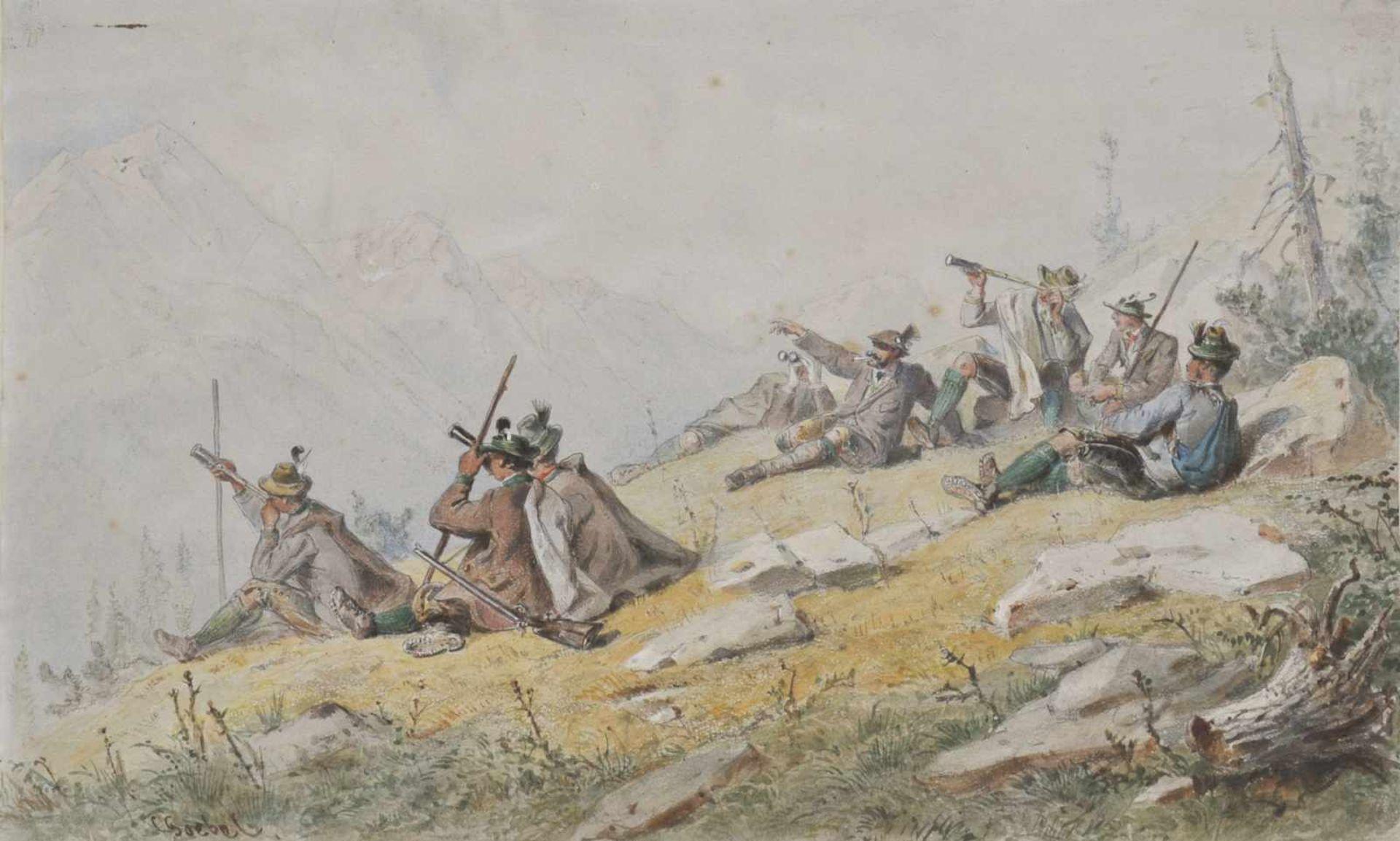 Carl Goebel (Wien/Vienna 1824 – 1899)
