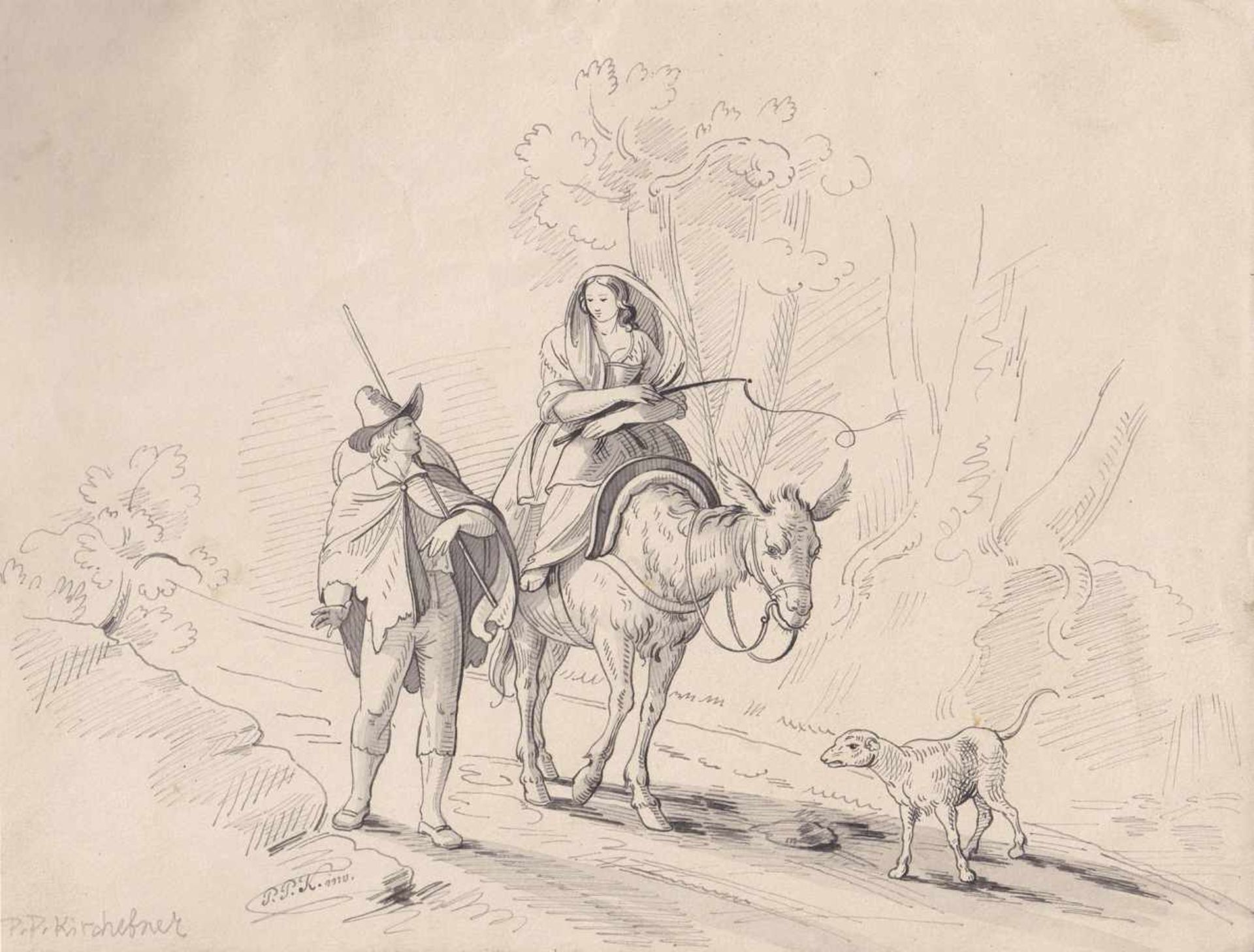 Peter Paul Kirchebner (Axams 1812 – Fügen im Zillertal 1846)