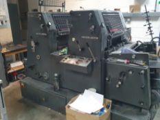(1989) Heidelberg GTO 52ZP Two Colour Printing Press