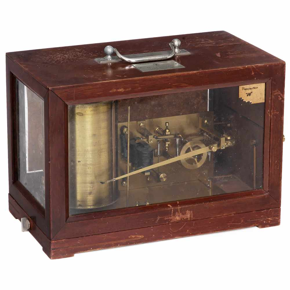Los 31 - Electrical Telewriting Machine by Jules Richard, Paris, c. 1890Early French device, for recording