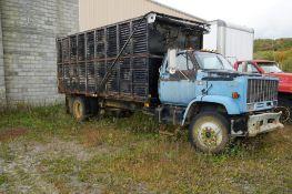 GMC TopKick Grain Truck