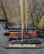 8 Push Brooms
